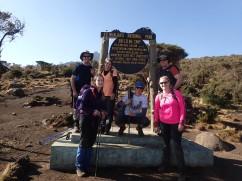 Kikilewa Camp - 8:15am ready to start hiking!